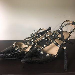 BCBG strappy heels, size 9.5